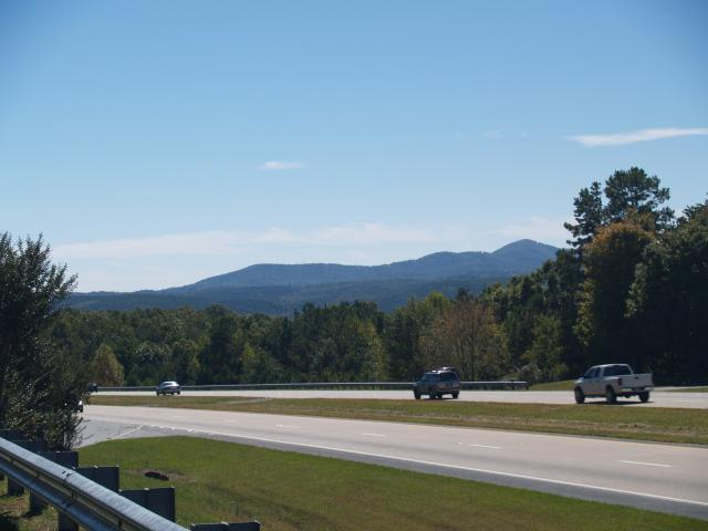 Ga Moutains in the fall